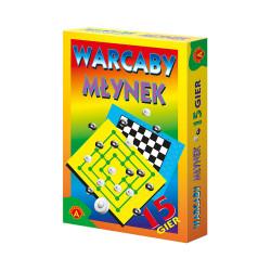 Warcaby – Młynek 15 gier