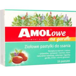 Amolowe na gardło ziołowe...