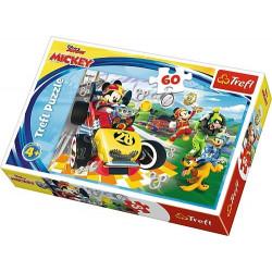 Puzzle 4+ Myszka Mickey...