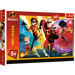 Puzzles 5+ The Incredibles...