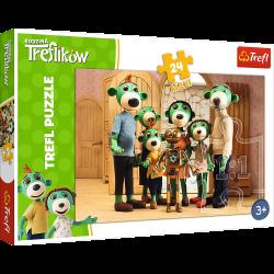 Puzzle 3+ Rodzina Treflików...