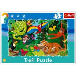 Puzzle 3+ Las Tropikalny 15...
