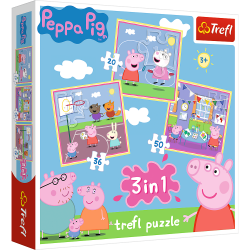 Puzzles 3+ Peppa Pig...