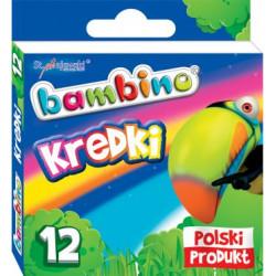 Bambino Kredki świecowe 12...