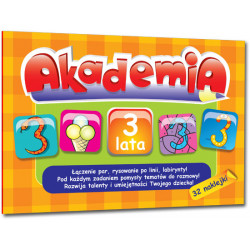 Akademia 3 lata A5