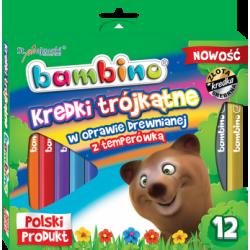 Bambino Kredki trójkątne w...