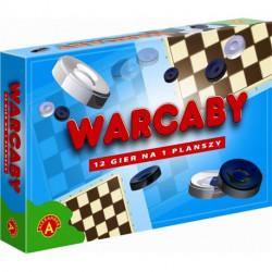 Gra Warcaby 12 gier na planszy